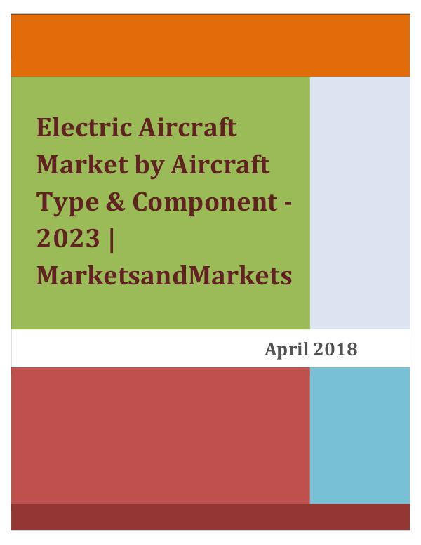 Aerospace & Aviation News Electric Aircraft Market