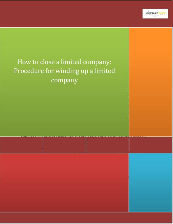 Business Plan - Venture Care Closing a ltd company  Guide on Fast Track Exit