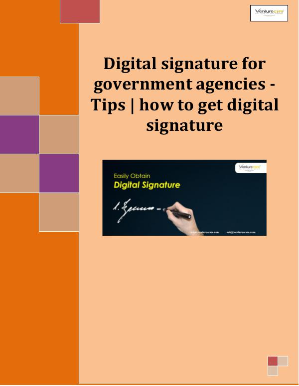 Tips for Government Agencies Going Digital Digit