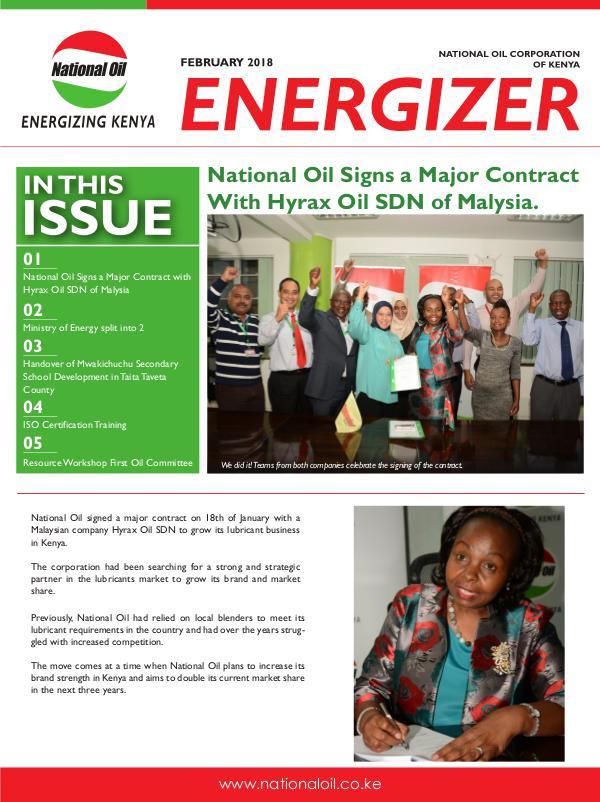 Energizer February Edition Feb Newsletter 2018
