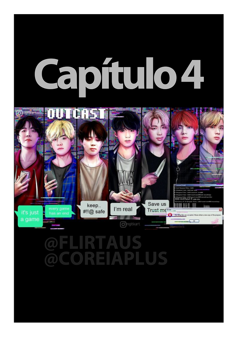 BTS OUTCAST Capítulo 4