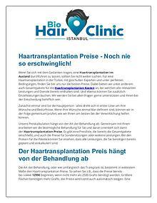 BioHairClinic - Haartransplantation istanbul