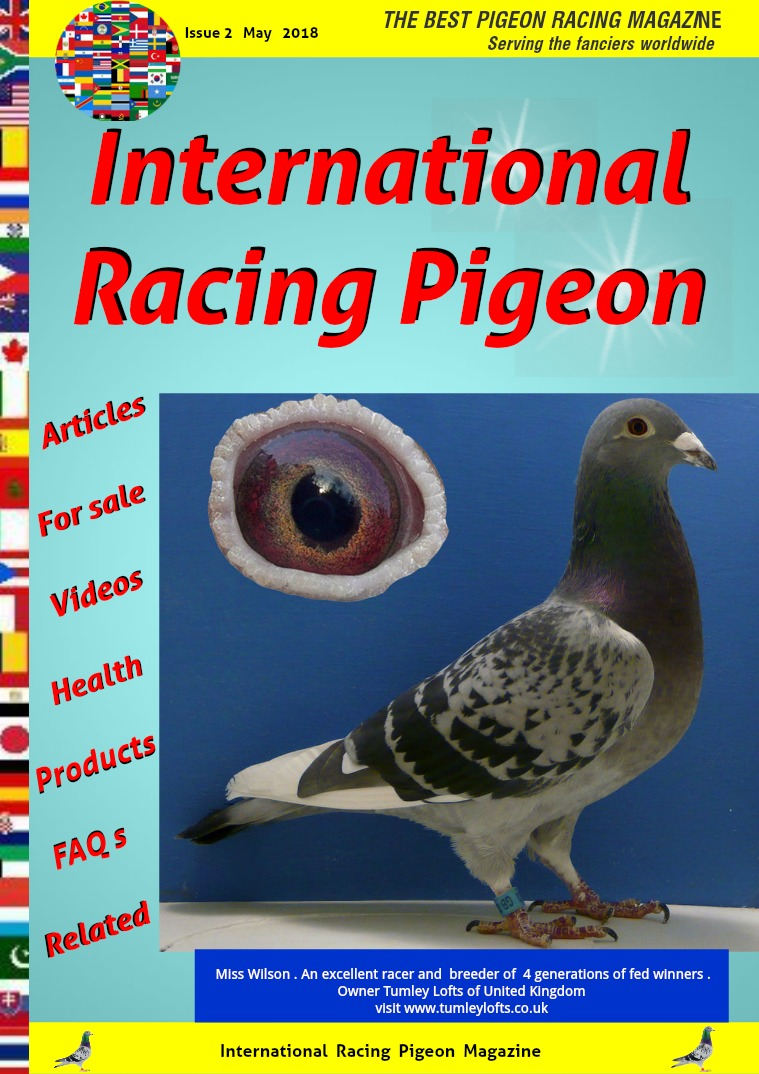 International Racing Pigeon Issue nr 2  . May  2018