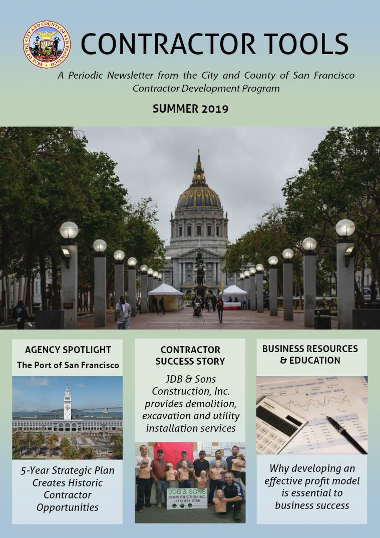 CCSF CDP Newsletter Summer 2019 Summer 2019
