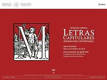 Exposición letras capitulares