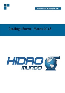 Catalogo HM Submersible y Sewage