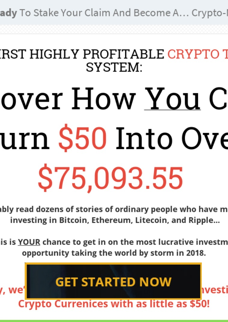 Crypto Crusher - Currency Trading System