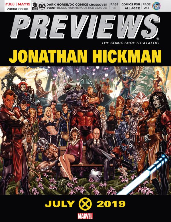 PREVIEWS May 2019
