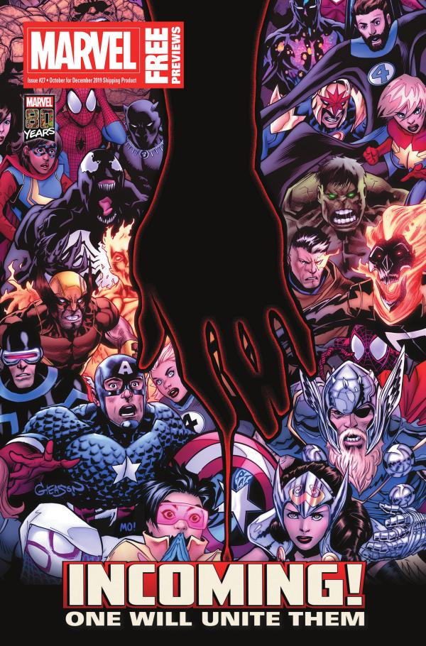 MARVEL PREVIEWS October 2019