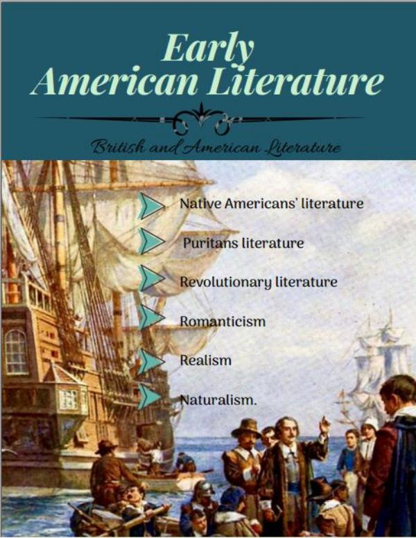 EARLY AMERICAN LITERATURE MAGAZINE Early American Literature Magazine exam