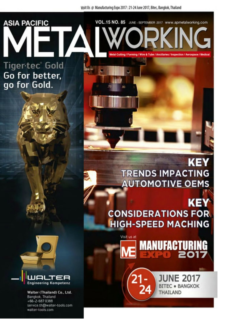 Asia Pacific Metal Working VOL.15 NO.85 Asia Pacific Metal Working