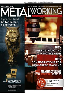 Asia Pacific Metal Working VOL.15 NO.85