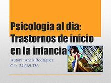 Psicología al día, Anais Rodriguez