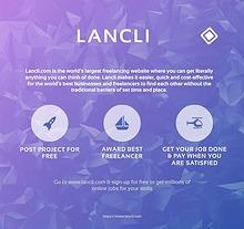 Lancli.com the world's largest freelancing website