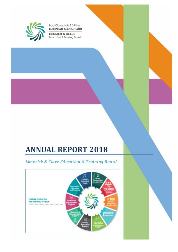 LCETB FET Annual Report Annual Report 2018