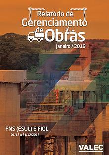 Relatório Gerencial de Obras 2019