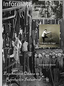 La explotación obrera en la revolución industrial
