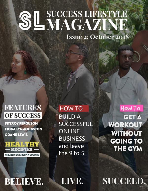 Success Lifestyle Magazine October 2018