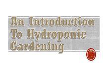 Hydroponics GAT