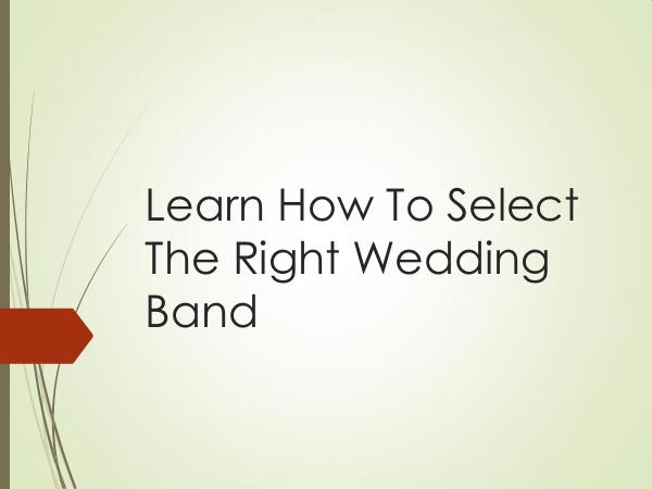 Main Event Music Learn How To Select The Right Wedding Band