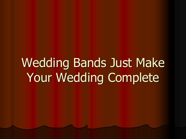 Main Event Music Wedding Bands Just Make Your Wedding Complete