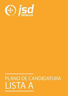 Plano de Candidatura