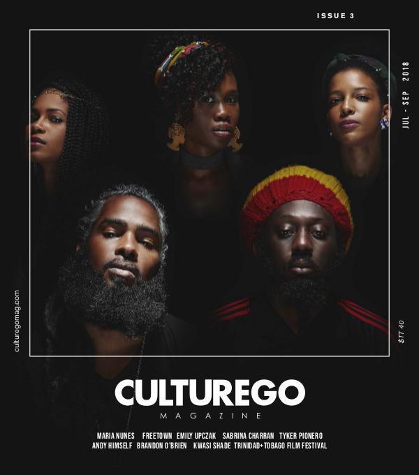 CULTUREGO MAGAZINE JULY - SEPT 2018
