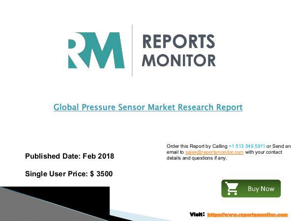 Global Pressure Sensor Market Professional Survey