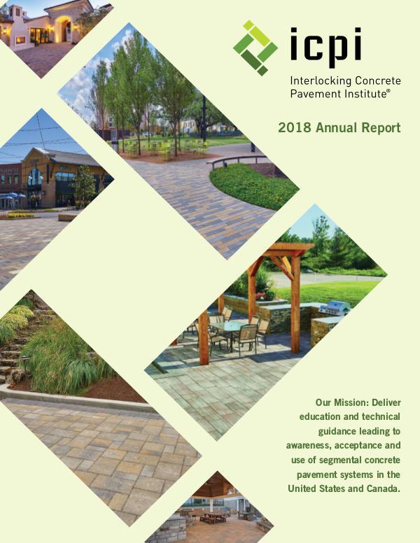 2018 ICPI Annual Report ICPI 2018 Annual Report 0219_4