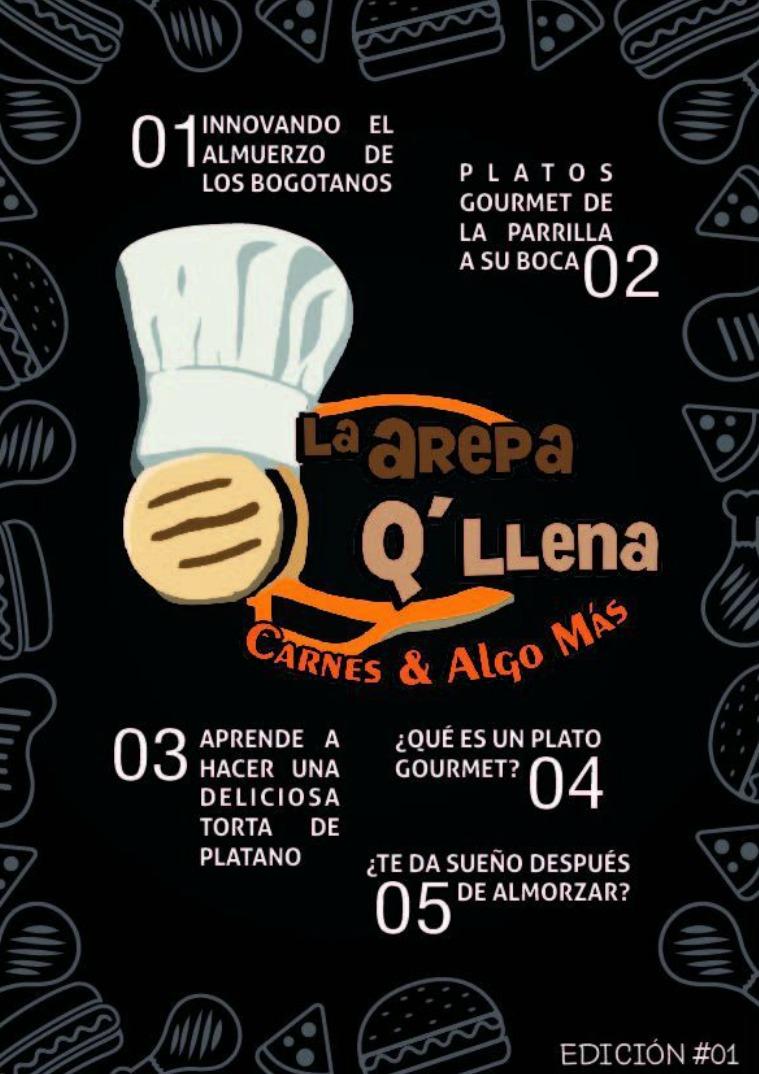 Revista Empresarial - La Arepa Q'llena 1