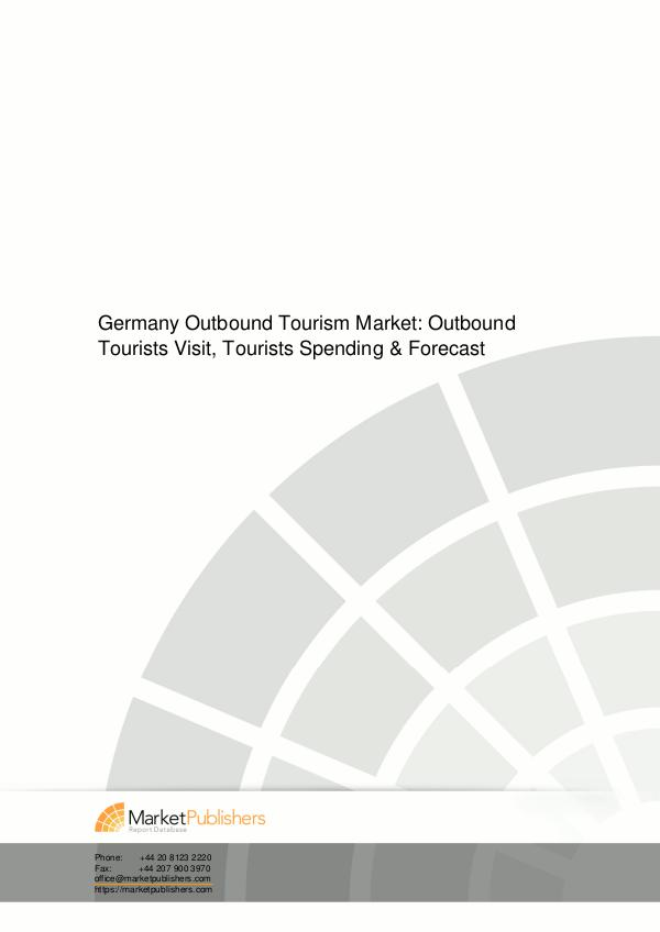 DPI Research : Reignite your Market Intelligence Singapore MICE touri Germany Tourism Market