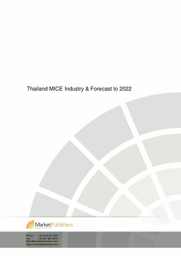 United Kingdom Outbound Travel Market - Trips & Spending to 2020 thailand mice tourism market