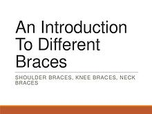 An Introduction To Different Braces
