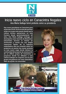 Nogales TV - Nuevo Ciclo en Canacintra Nogales