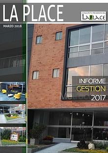 Laplace -  Informe Gestion 2017