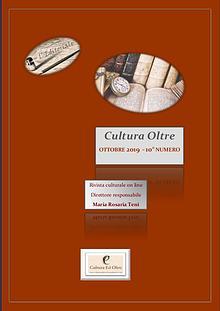 Rivista Cultura Oltre 10° numero - Ottobre 2019