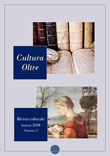 Rivista Cultura Oltre 3° numero - MARZO 2018