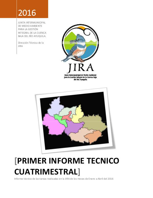 1er informe cuatrimestral 2016 01 Enero-Abril