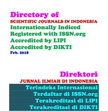 Directory of SCIENTIFIC JOURNALS IN INDONESIA