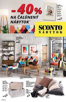 SCONTO Leták SK