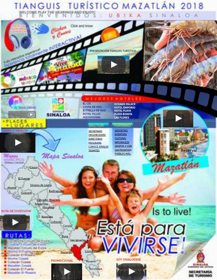 REVISTA TURÍSTICA INTERACTIVA SINALOA Portada Sinaloa