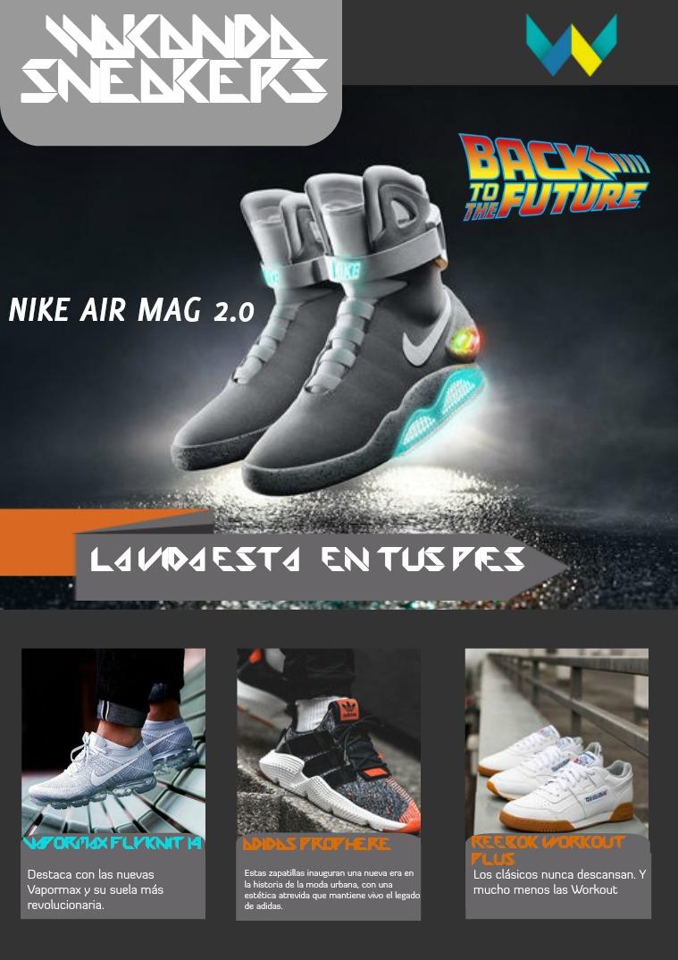 Mi primera revista, Wakanda Sneakers Wakanda Sneakers