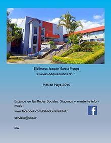 Biblioteca Joaquin García Monge- UNA