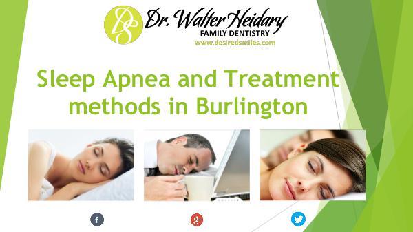 Sleep Apnea and Treatment in Burlington Sleep Apnea and Its Treatment in Burlington
