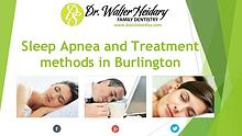 Sleep Apnea and Treatment in Burlington