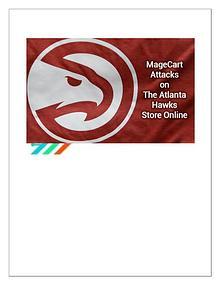 MageCart Attacks on The Atlanta Hawks Store Online