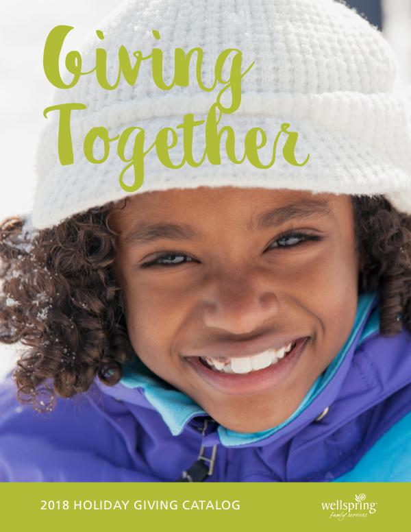 Giving Catalog Giving Together 2018