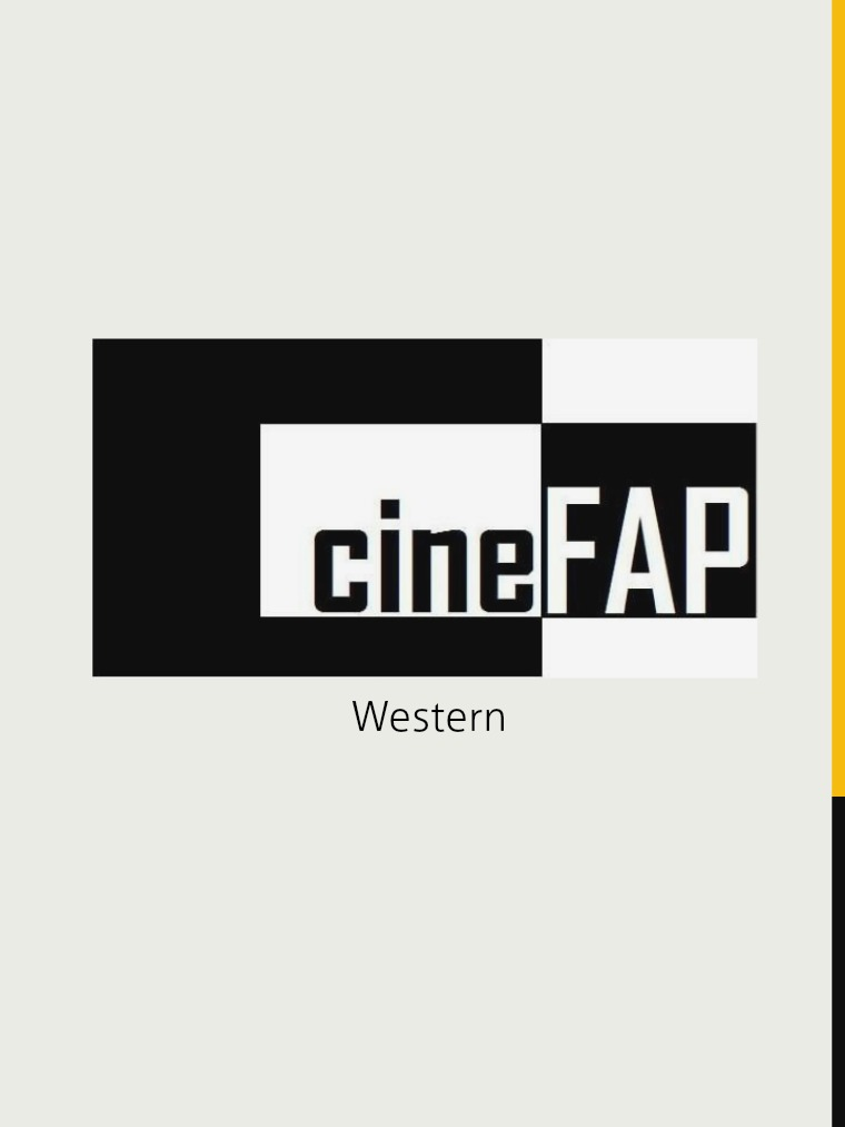 Catálogo Cine FAP Western