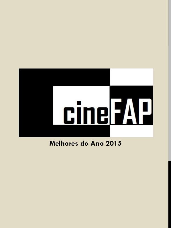 Catálogo Cine FAP Melhores do Ano 2015