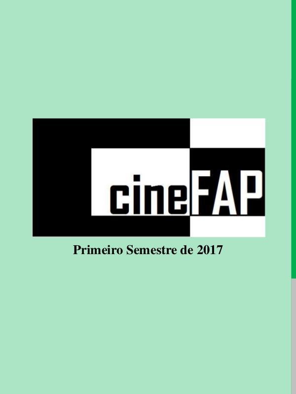 Catálogo Cine FAP Primeiro Semestre de 2017
